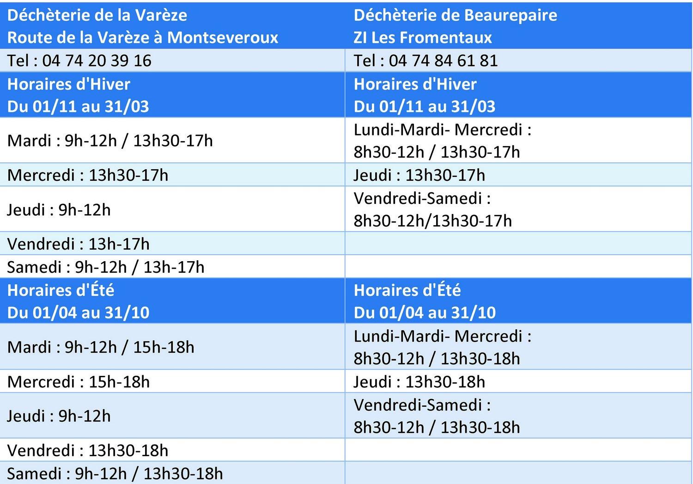 horaires-dechetteries