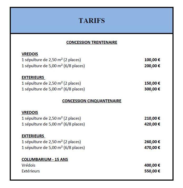 tarifs-cimetiere