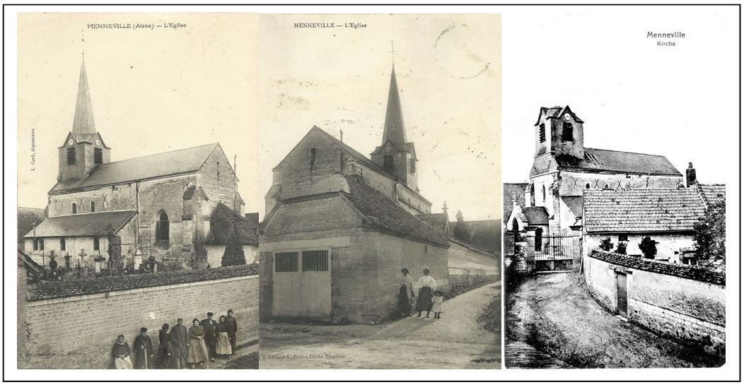 eglise-de-menneville-au-xxeme-siecle