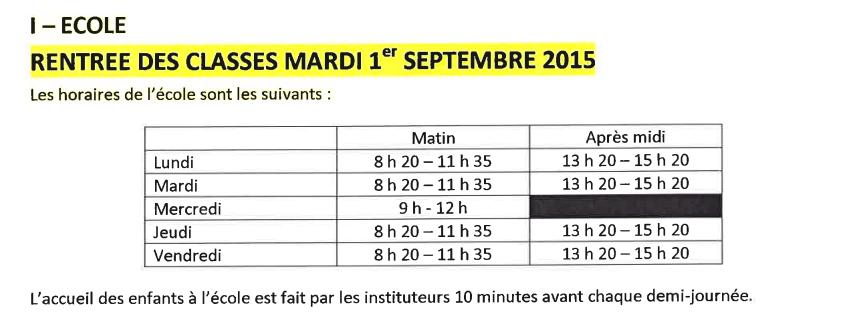 horaires-ecole